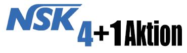 NSK 4+1 Aktion